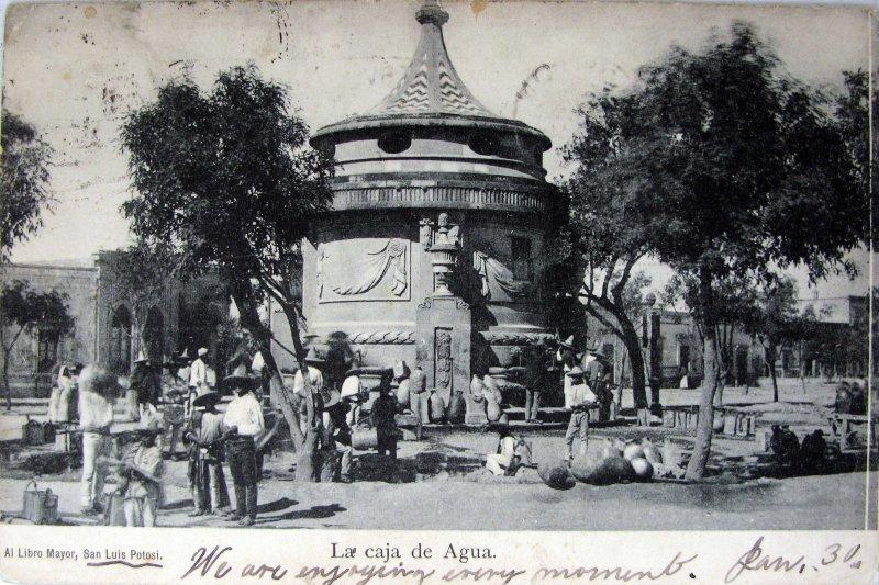 LA CAJA DE AGUA Hacia 1909