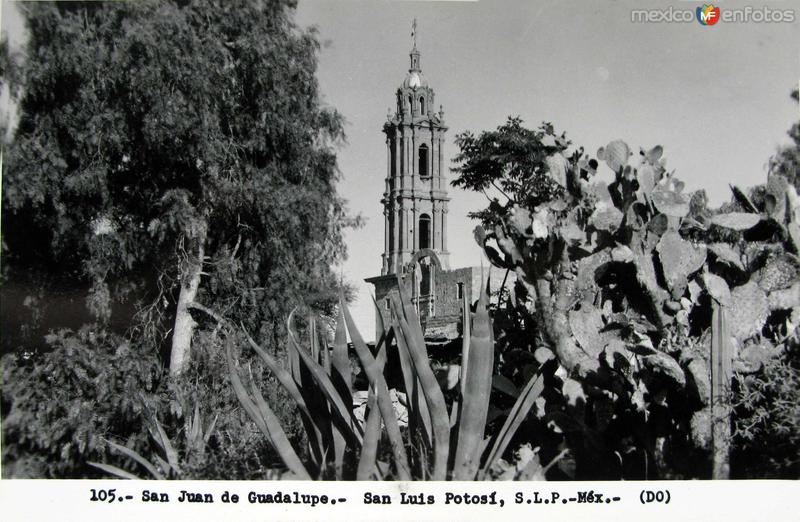 IGLESIA DE SAN JUAN DE GUADALUPE Hacia 1945