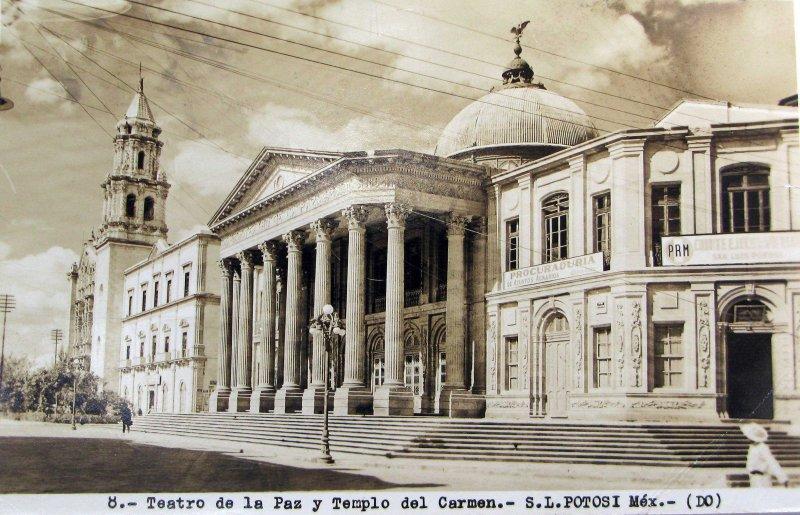 TEATRO DE LA PAZ Hacia 1945