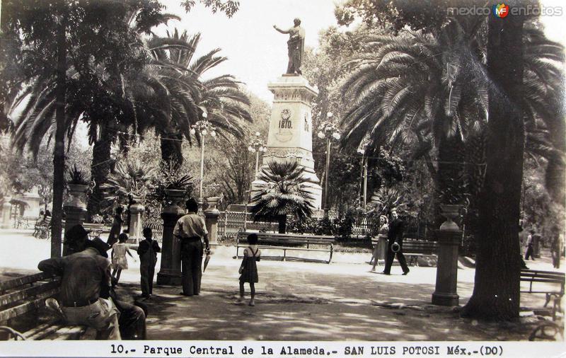 PARQUE CENTRAL Hacia 1945