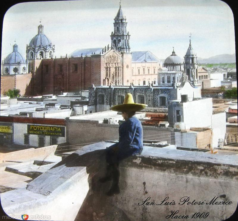 Templo del Carmen (ca. 1909)