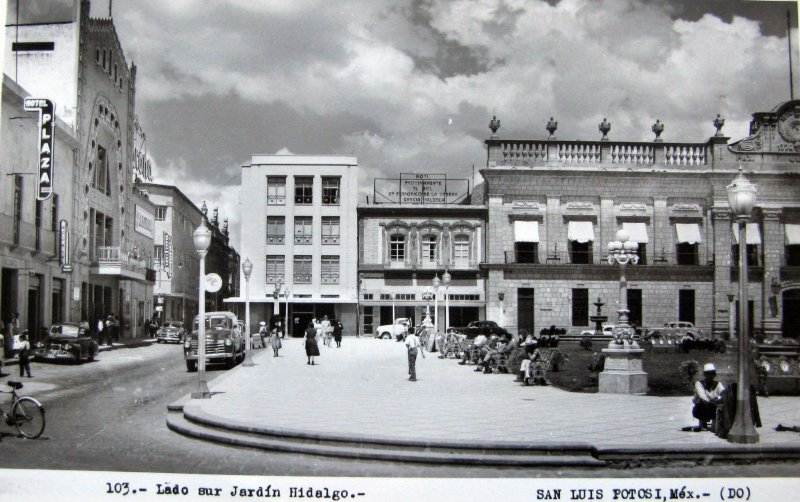 PANORAMA DEL JARDIN HIDALGO