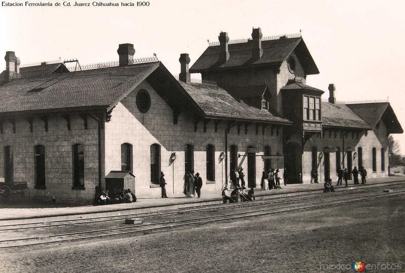 Estacion Ferroviarria de Cd. Juarez Chihuahua