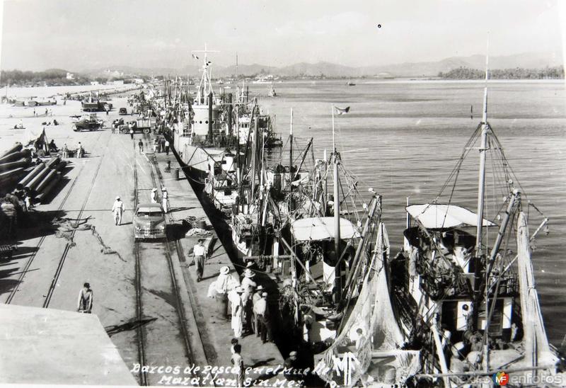 EL MUELLE PANORAMA Hacia 1945