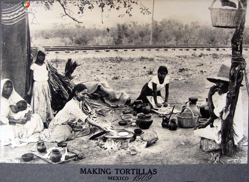 TIPOS MEXICANOS tortilleras