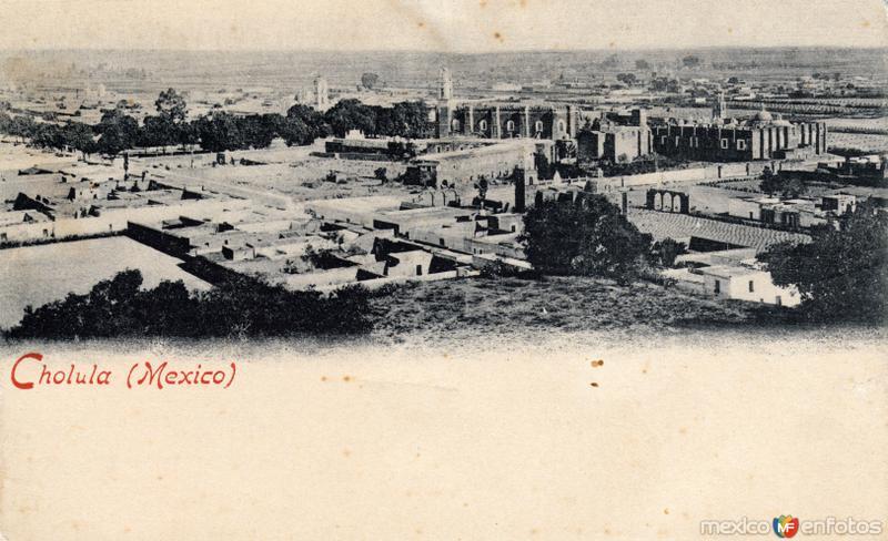 Vista de Cholula