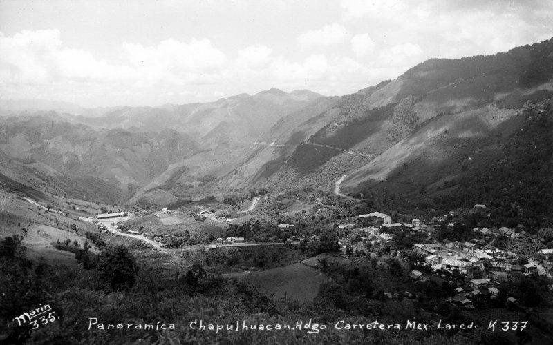 Vista panorámica en la Carretera México - Laredo