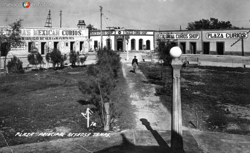 Plaza Principal de Reynosa
