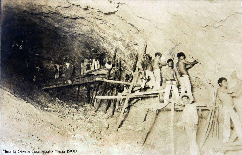 MINA LA SIRENA Hacia 1900