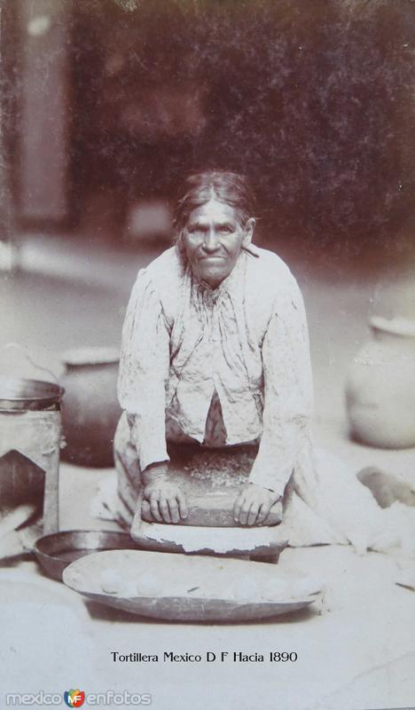 TIPOS MEXICANOS Tortillera Mexico D F