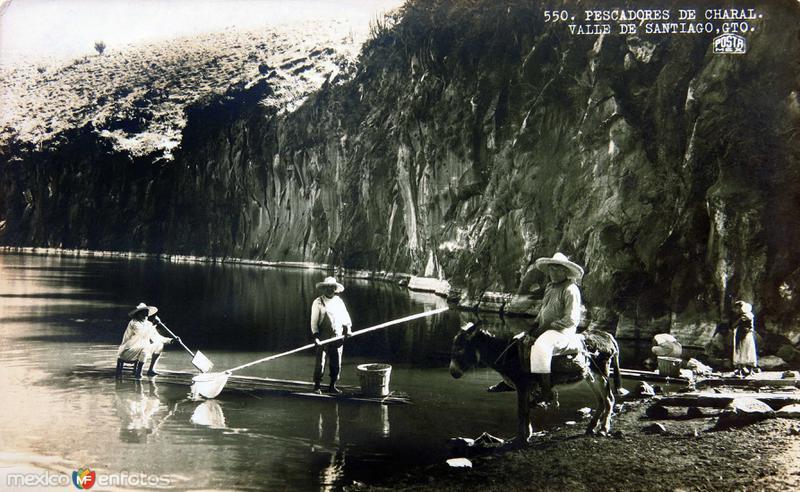 TIPOS MEXICANOS Pescadores de Charal