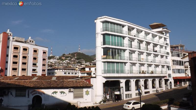 La zona centro de Puerto Vallarta. Abril/2015