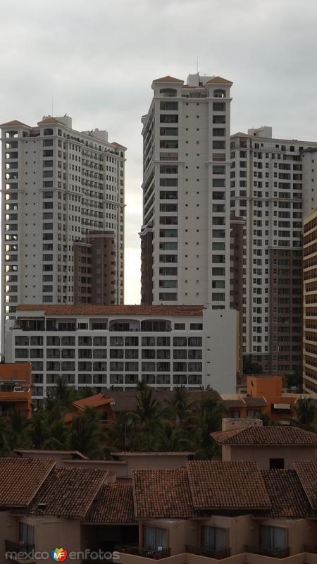 La zona hotelera de Puerto Vallarta. Abril/2015
