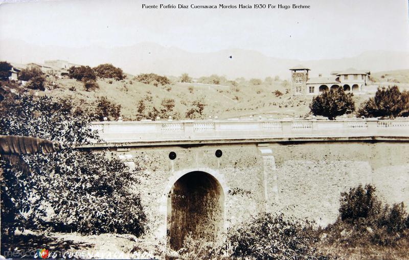 Puente Porfirio Diaz Por Hugo Brehme