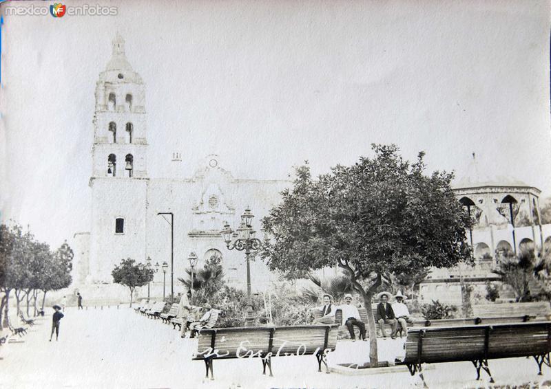 Templo de la Pirísima Concepción (ca. 1900)