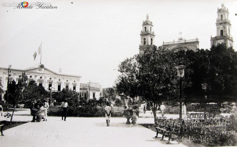 IGLESIA Y PALACIO MUNICIPAL