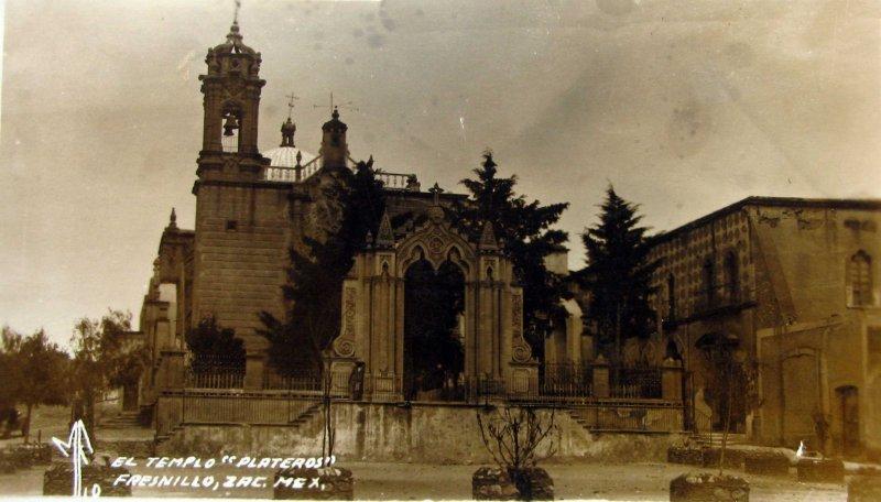 TEMPLO DE PLATEROS Circa 1930-1950