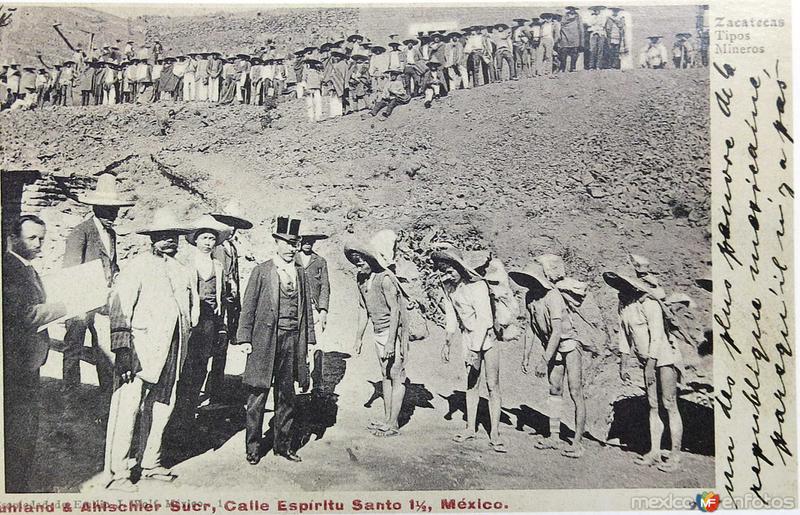 TIPOS MEXICANOS MINEROS