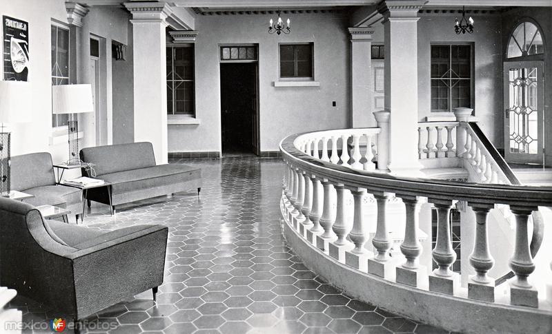 Interior del Hotel Urdiñola