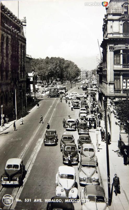 AVENIDA HIDALGO Circa 1920-1940