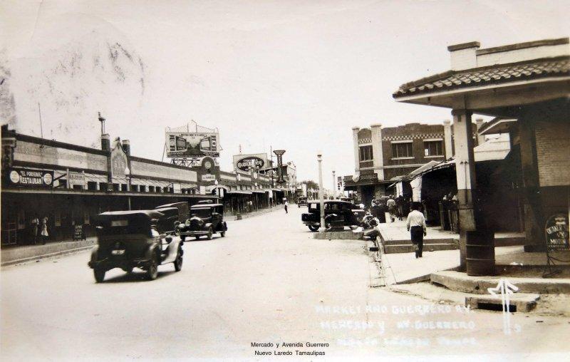 Mercado y Avenida Guerrero