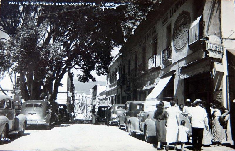 CALLE GUERRERO circa 1930-1950