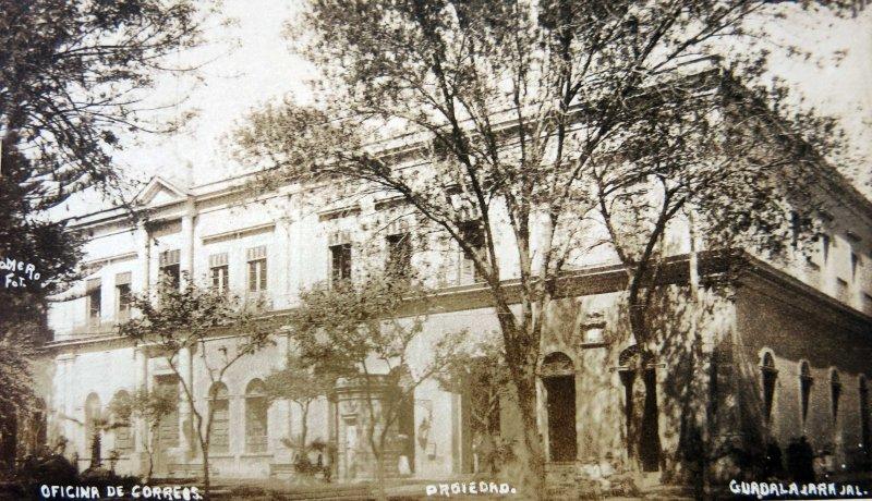 OFICINA DE CORREOS Circa 1930-1950