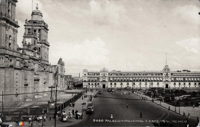 Palacio Nacional y Catedral Metropolitana