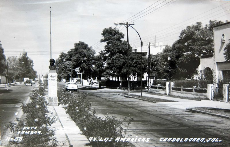 Avenida de las Americas Circa 1930-1950