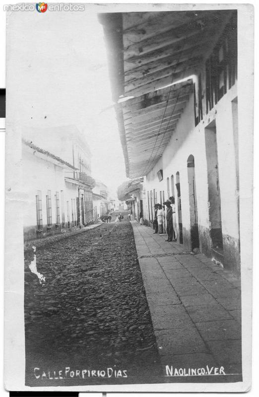 Calle Porfirio Diaz