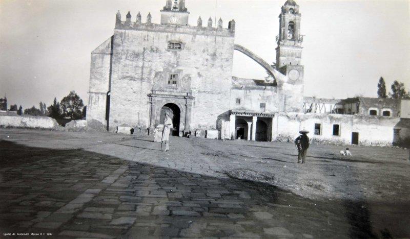 Iglesia de Xochimilco Mexico D F circa 1939