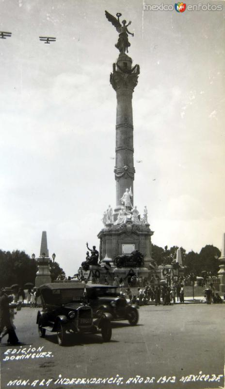 MTO. A LA INDEPENDENCIA EL 16 DE SEPTIEMBRE DE 1912