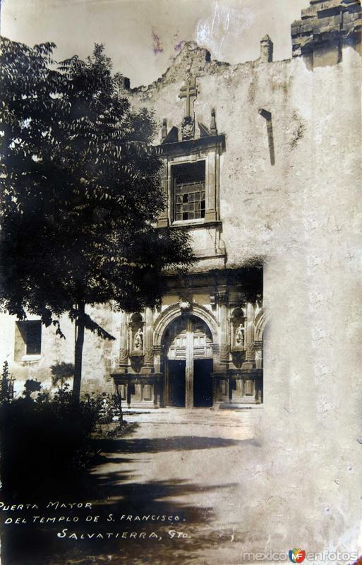 TEMPLO DE SAN FRANCISCO Circa 1930-1950