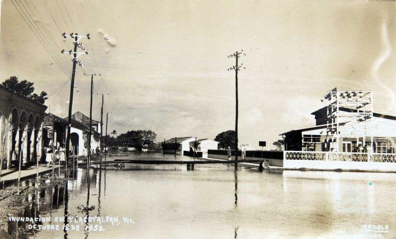 Una Inundacion del 18 de Octubre de 1950