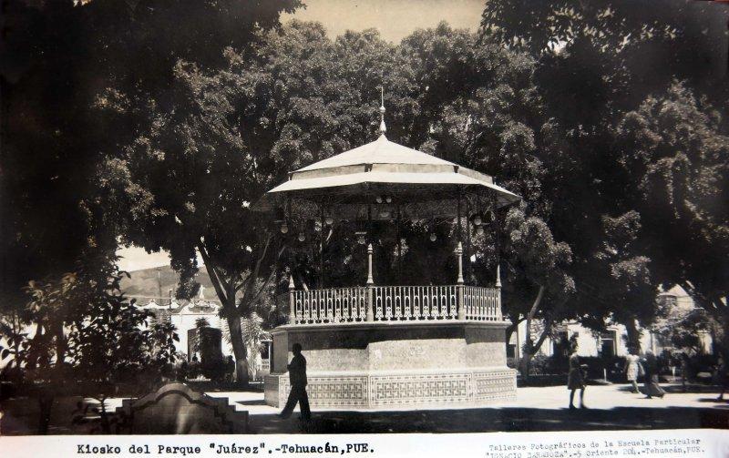 PARQUE JUAREZ circa 1930-1950