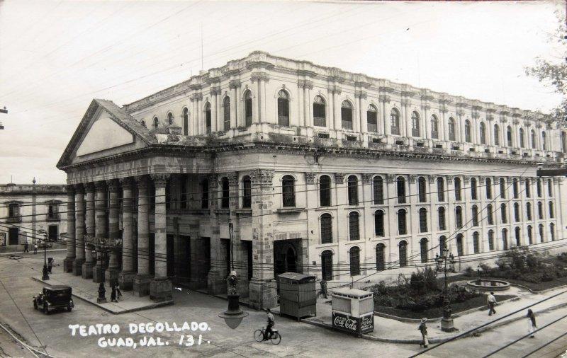 TEATRO DEGOLLADO 1930-1950
