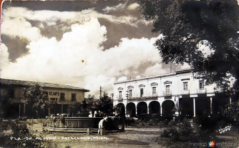 PLAZA DE SAN AGUSTIN Circa 1930-1950