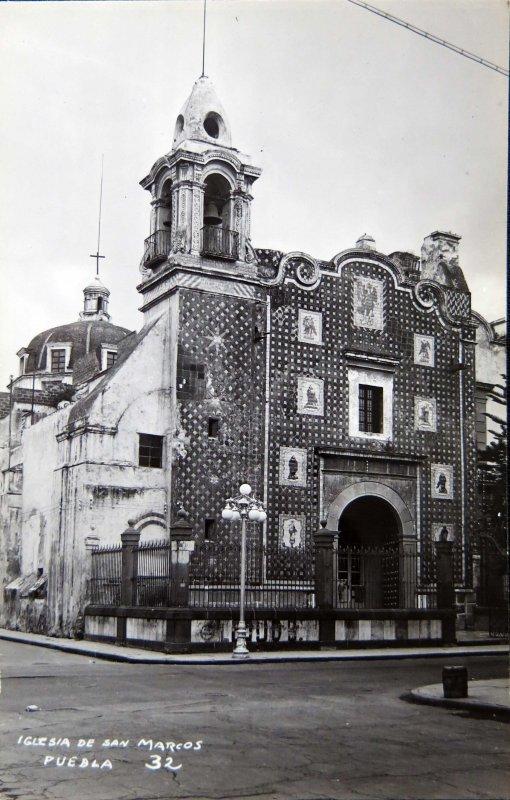 IGLESIA DE SAN MARCOS Circa 1930-1950