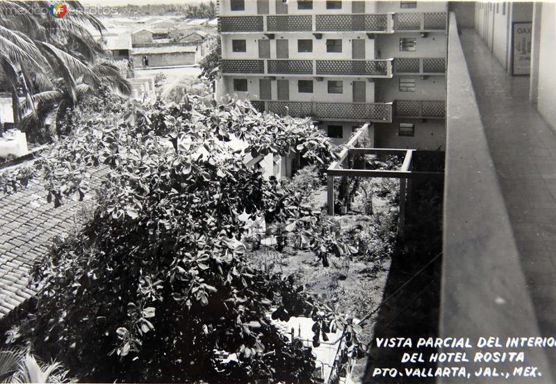 INTERIOR DEL HOTEL ROSITA Circa 1930-1950