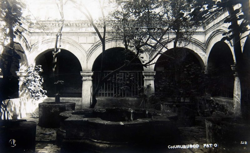 PATIO DE CHURUBUSCO Circa 1930-1950