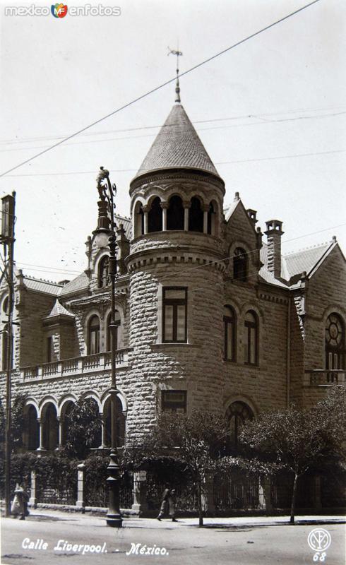 CALLE DE LIVERPOL Circa 1930-1950