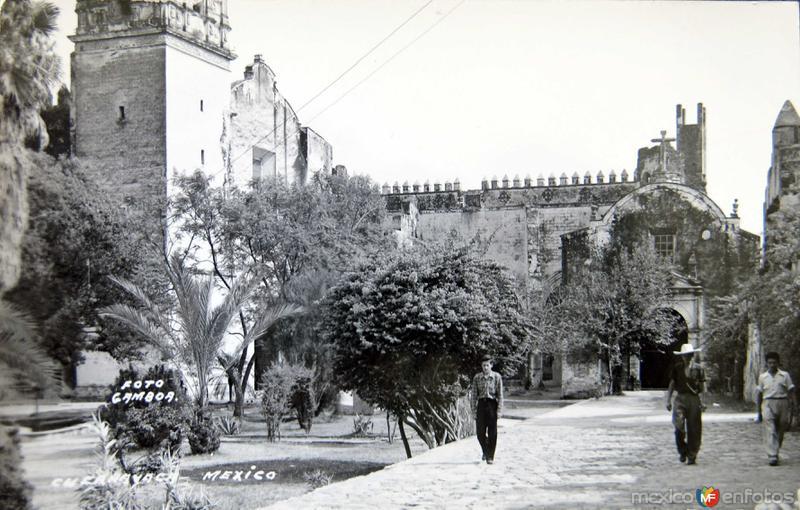 ATRIO DE LA CATEDRAL circa 1930-1950