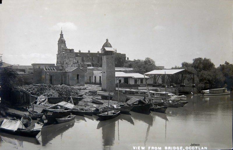 VISTA DESDE EL PUENTE Circa 1900-1920