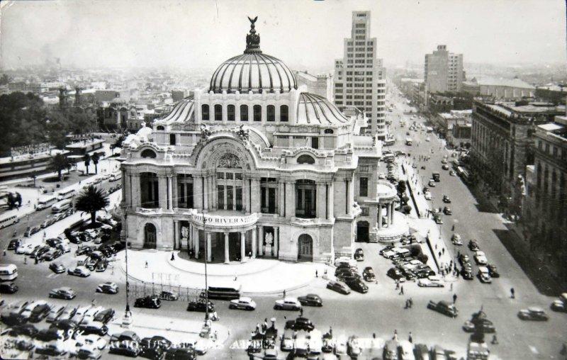 PALACIO DE BELLAS ARTES hacia 1930-1950