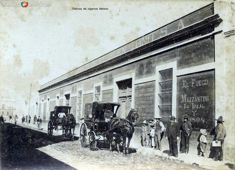 FABRICA DE CIGARROS - Circa 1900-1920