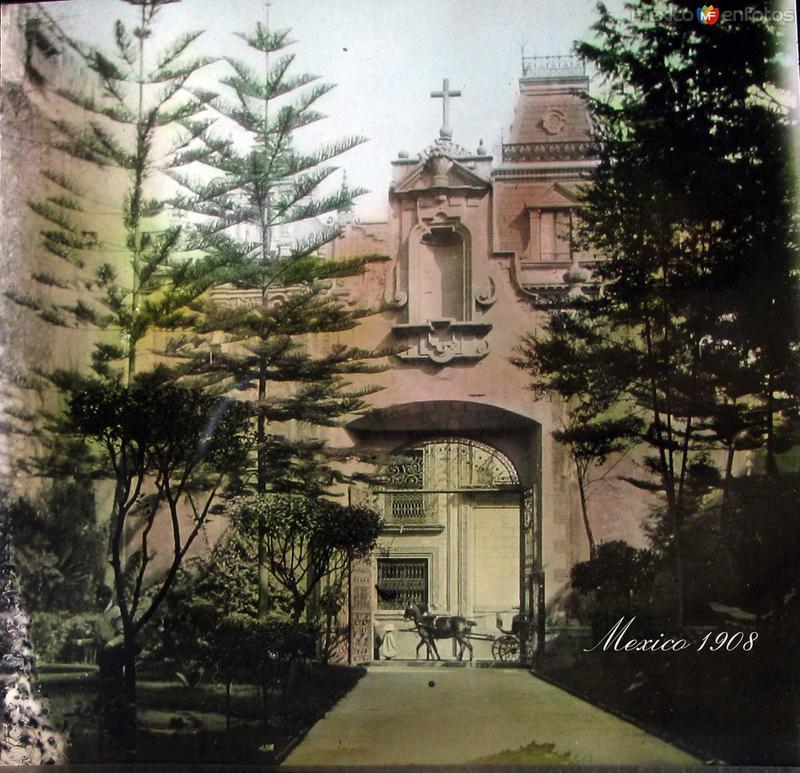 Convento de San Francisco (ca. 1908)