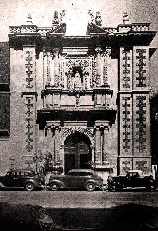 Templo de San Bernardo (ca. 1945)