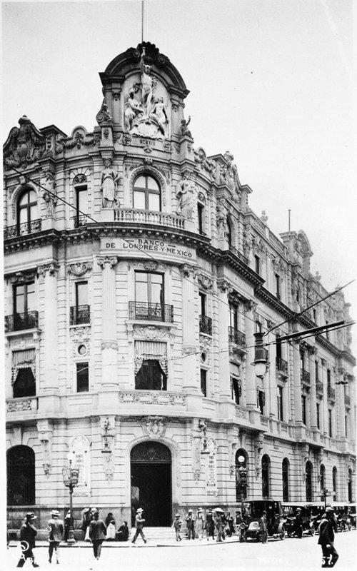 Banco de Londres y Mexico Circa 1910-1930