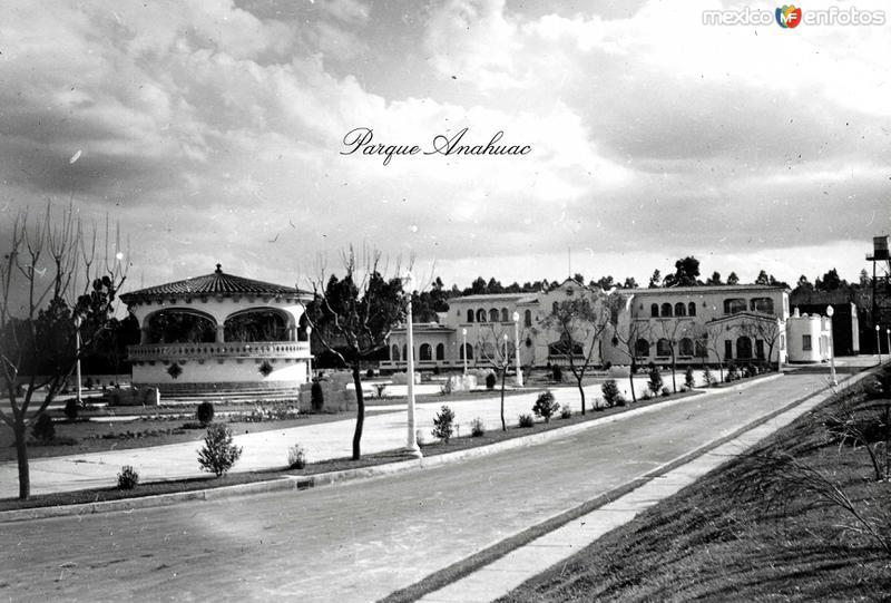 PARQUE ANAHUAC Circa 1930-1950