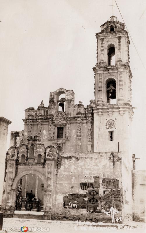 Templo en Izúcar de Matamoros